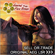 Sell Original Legend of the Five Rings cards - L5R Buylist