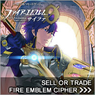 Sell Fire Emblem Cipher cards - Fire Emblem Cipher Buylist