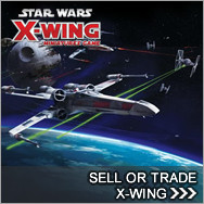 Sell Star Wars X-Wing Components - Star WarsX-Wing Buylist