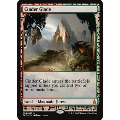 Cinder Glade Battle For Zendikar Magic Singles