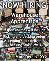 Now Hiring A Warehouse Apprentice