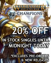 Warhammer Age of Sigmar Champions Sale