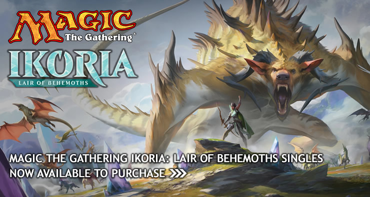 MtG Ikoria: Lair of Behemoths Singles Now Available To Pre-Order