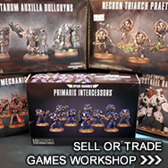 Sell Miniatures - Games Workshop Buylist