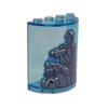 Cylinder 2 x 4 x 4 with Prince Eric Statue Sticker (6218) - Other - Lego - Big Orbit Cards