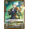 Caspar: Brawl-Loving Young Fighter - B19 The Holy Flames of Sublime Heaven - Fire Emblem Cipher - Big Orbit Cards