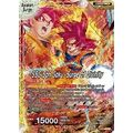 Super Saiyan Son Goku // SSG Son Goku, Surge of Divinity (Foil) - Saiyan Surge - Dragon Ball Super TCG - Big Orbit Cards