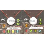 Jek Porkins & Red Squadron Pilot - Small Ship Token (1st Edition) - Ship Tokens - X-Wing Miniatures Game - Big Orbit Cards