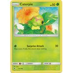Caterpie - Burning Shadows - Pokemon - Big Orbit Cards
