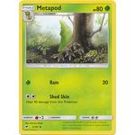 Metapod - Burning Shadows - Pokemon - Big Orbit Cards