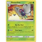 Butterfree - Burning Shadows - Pokemon - Big Orbit Cards
