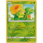 Caterpie (Reverse Holo) - Burning Shadows - Pokemon - Big Orbit Cards