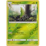 Metapod (Reverse Holo) - Burning Shadows - Pokemon - Big Orbit Cards