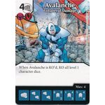 Avalanche - Collateral Damage - X-Men First Class - Marvel Dice Masters - Big Orbit Cards