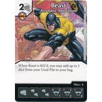 Beast - Acrobatic Aggression - X-Men First Class - Marvel Dice Masters - Big Orbit Cards