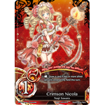 Crimson Nicola Lv.1 - The Magic Battle Begins - Force of Will - Big Orbit Cards