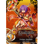 Tricker Heather Lv.1 - The Magic Battle Begins - Force of Will - Big Orbit Cards