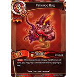 Patience Bag - The Magic Battle Begins - Force of Will - Big Orbit Cards