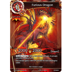 Furious Dragon - Wings of Anger - Force of Will - Big Orbit Cards