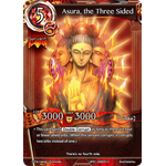 Asura, the Three Sided - The Magic Battle Begins - Force of Will - Big Orbit Cards