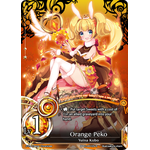 Orange Peko Lv.1 - The Magic Battle Begins - Force of Will - Big Orbit Cards