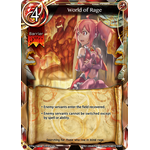 World of Rage - The Magic Battle Begins - Force of Will - Big Orbit Cards