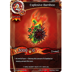 Explosive Bamboo - Wings of Anger - Force of Will - Big Orbit Cards