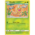 Weedle - Crimson Invasion - Pokemon - Big Orbit Cards