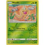 Weedle (Reverse Holo) - Crimson Invasion - Pokemon - Big Orbit Cards