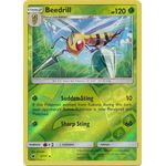 Beedrill (Reverse Holo) - Crimson Invasion - Pokemon - Big Orbit Cards