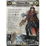 Broderick Worr (Unique) - Decree of Ruin - Planetfall Cycle - Warhammer 40,000 Conquest - Big Orbit Cards