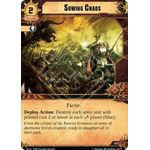 Sowing Chaos - Decree of Ruin - Planetfall Cycle - Warhammer 40,000 Conquest - Big Orbit Cards