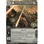 Anxious Infantry Platoon - Decree of Ruin - Planetfall Cycle - Warhammer 40,000 Conquest - Big Orbit Cards