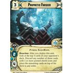 Prophetic Farseer - Decree of Ruin - Planetfall Cycle - Warhammer 40,000 Conquest - Big Orbit Cards