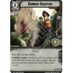 Summary Execution - Decree of Ruin - Planetfall Cycle - Warhammer 40,000 Conquest - Big Orbit Cards