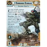 Commander Starblaze (Unique) - Decree of Ruin - Planetfall Cycle - Warhammer 40,000 Conquest - Big Orbit Cards