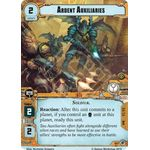 Ardent Auxiliaries - Decree of Ruin - Planetfall Cycle - Warhammer 40,000 Conquest - Big Orbit Cards