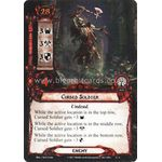 Cursed Soldier - Temple of the Deceived - The Lord of the Rings The Card Game - Big Orbit Cards