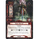 King's Knight - Temple of the Deceived - The Lord of the Rings The Card Game - Big Orbit Cards