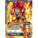 Super Saiyan God Son Goku // SSGSS Son Goku, The Soul Striker - Galactic Battle - Dragon Ball Super TCG - Big Orbit Cards