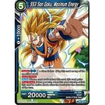 SS3 Son Goku, Maximum Energy - Galactic Battle - Dragon Ball Super TCG - Big Orbit Cards