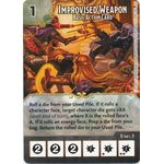 Improvised Weapon - Basic Action Card - Tomb of Annihilation - Dungeons & Dragons Dice Masters - Big Orbit Cards