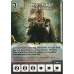 Insect Plague - Basic Action Card (Foil) - Tomb of Annihilation - Dungeons & Dragons Dice Masters - Big Orbit Cards
