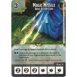 Magic Missile - Basic Action Card - Tomb of Annihilation - Dungeons & Dragons Dice Masters - Big Orbit Cards