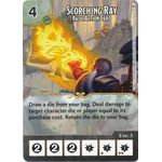 Scorching Ray - Basic Action Card (Foil) - Tomb of Annihilation - Dungeons & Dragons Dice Masters - Big Orbit Cards