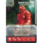 Amber Golem - Lesser Construct - Tomb of Annihilation - Dungeons & Dragons Dice Masters - Big Orbit Cards