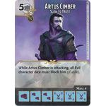 Artus Cimber - Slow to Trust - Tomb of Annihilation - Dungeons & Dragons Dice Masters - Big Orbit Cards