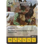 Triceratops - Lesser Beast (Foil) - Tomb of Annihilation - Dungeons & Dragons Dice Masters - Big Orbit Cards