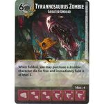 Tyrannosaurus Zombie - Greater Undead - Tomb of Annihilation - Dungeons & Dragons Dice Masters - Big Orbit Cards