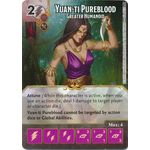Yuan-ti Pureblood - Greater Humanoid - Tomb of Annihilation - Dungeons & Dragons Dice Masters - Big Orbit Cards